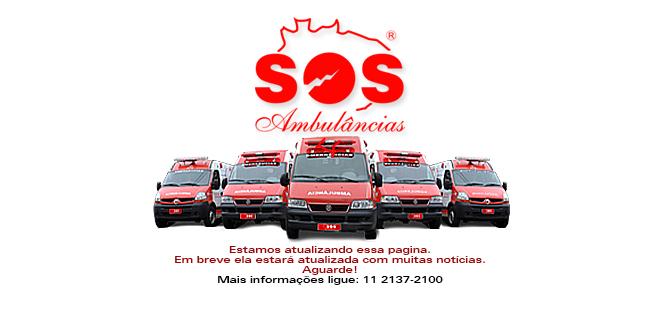 EM CONSTRUÇÃO - SOS AMBULÂNCIAS